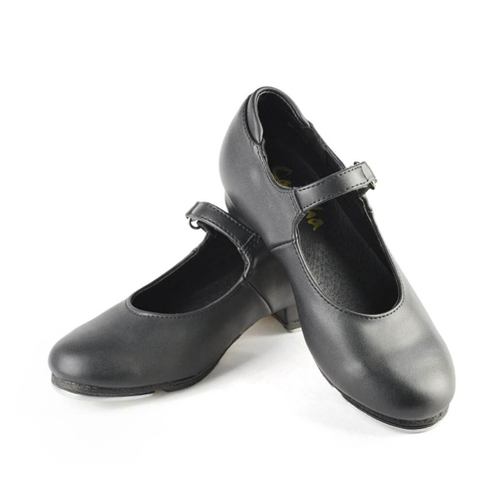 "Sansha Child/Youth ""Tee-Sofiette"" Leather Tap Shoe"