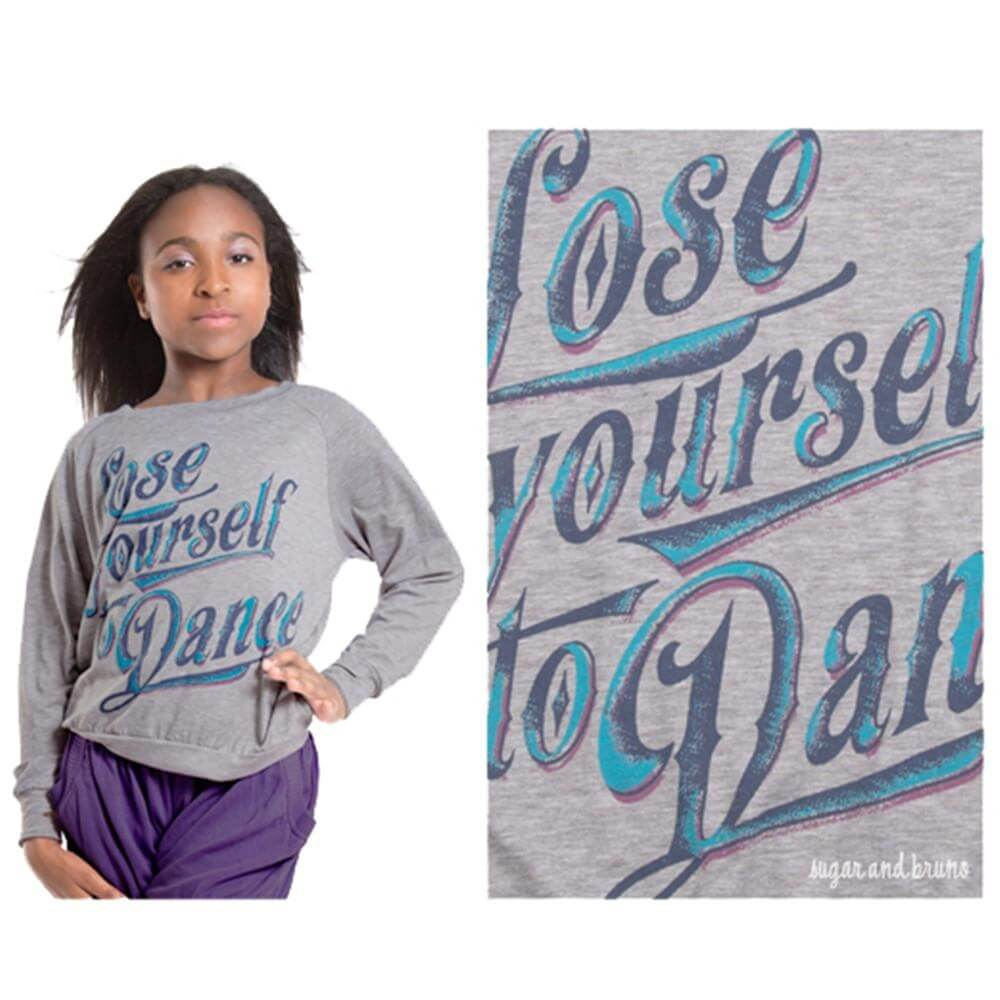 Sugar and Bruno Lose Yourself to Dance Youth Raglan