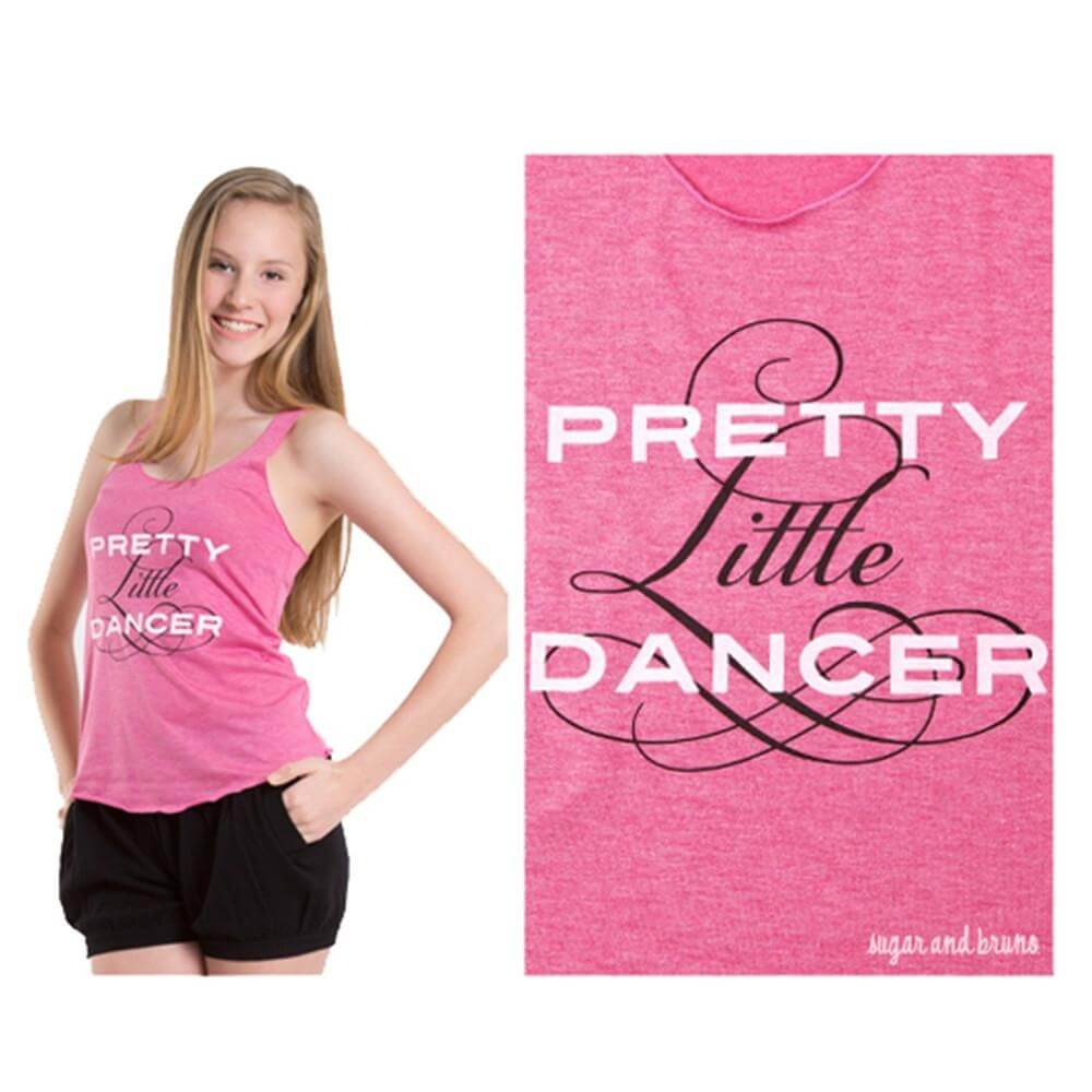 Sugar and Bruno Pretty Little Dancer Racerback