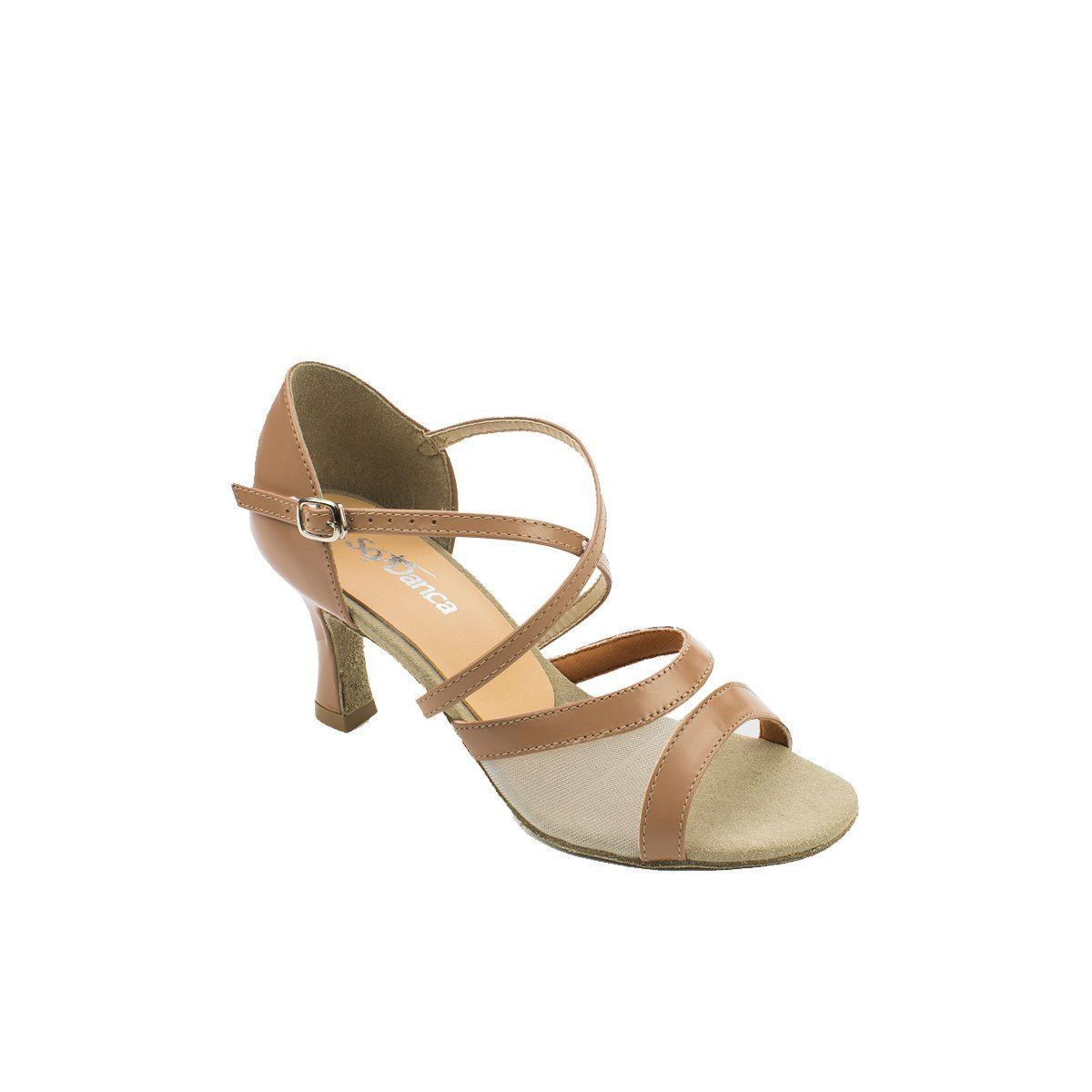 SoDanca BL-158 Adult Rosa Strappy Ballroom Shoe