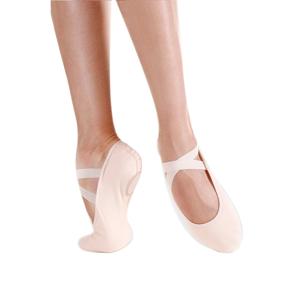 SoDanca SD-120 Adult Brio Split Sole Ballet Slippers - Click Image to Close