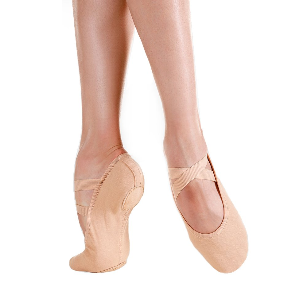 SoDanca SD-121 Adult Bristol Split Sole Ballet Slippers
