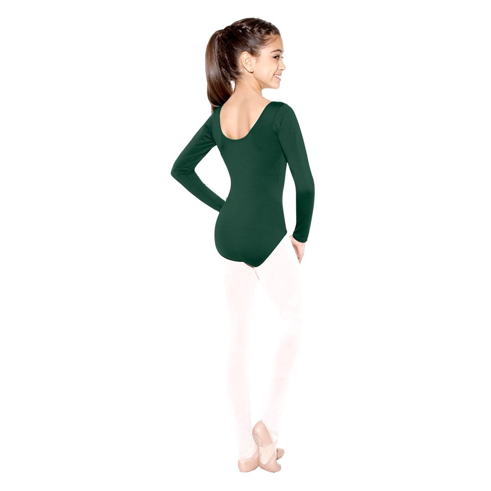 SoDanca Child Long Sleeve Leotard With Rounded Neckline