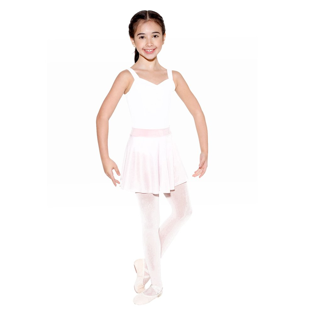 SoDanca Child Pull On Sheer Circle Skirt