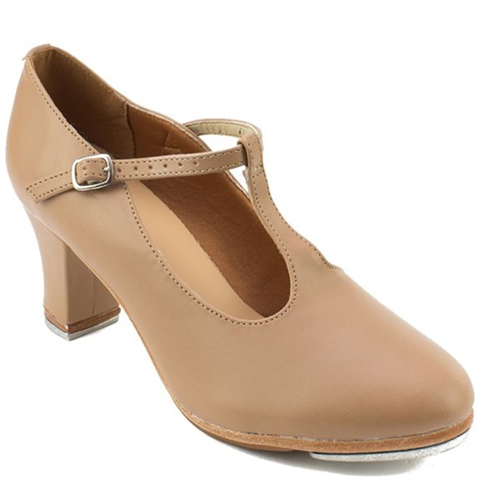 "SoDanca TA-49 T-Strap 2"" Heel Tap Shoes"