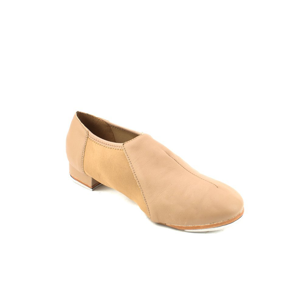 SoDanca TA-52 Pre-arched Split Sole Slip-on Tap Shoes