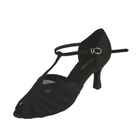 "Stephanie Ladies 2"" Heel Satin Ballroom Shoe"