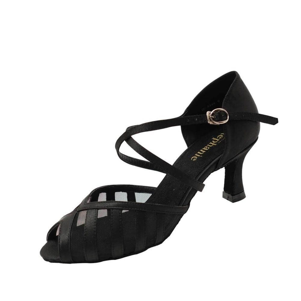 "Stephanie Ladies 2"" Heel Ballroom Shoes"