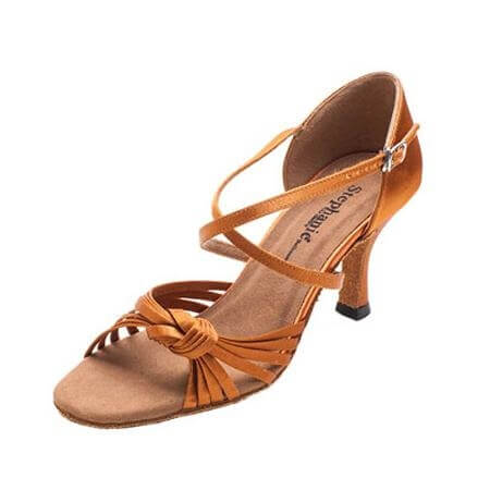 "Stephanie Ladies 2.5"" Heel Latin Series Ballroom Shoe"