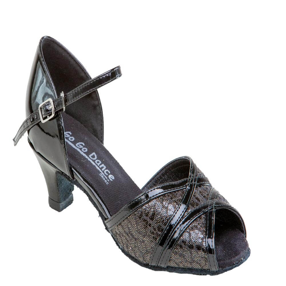"GOGO Ladies 1.3"" Heel Ballroom Shoe"
