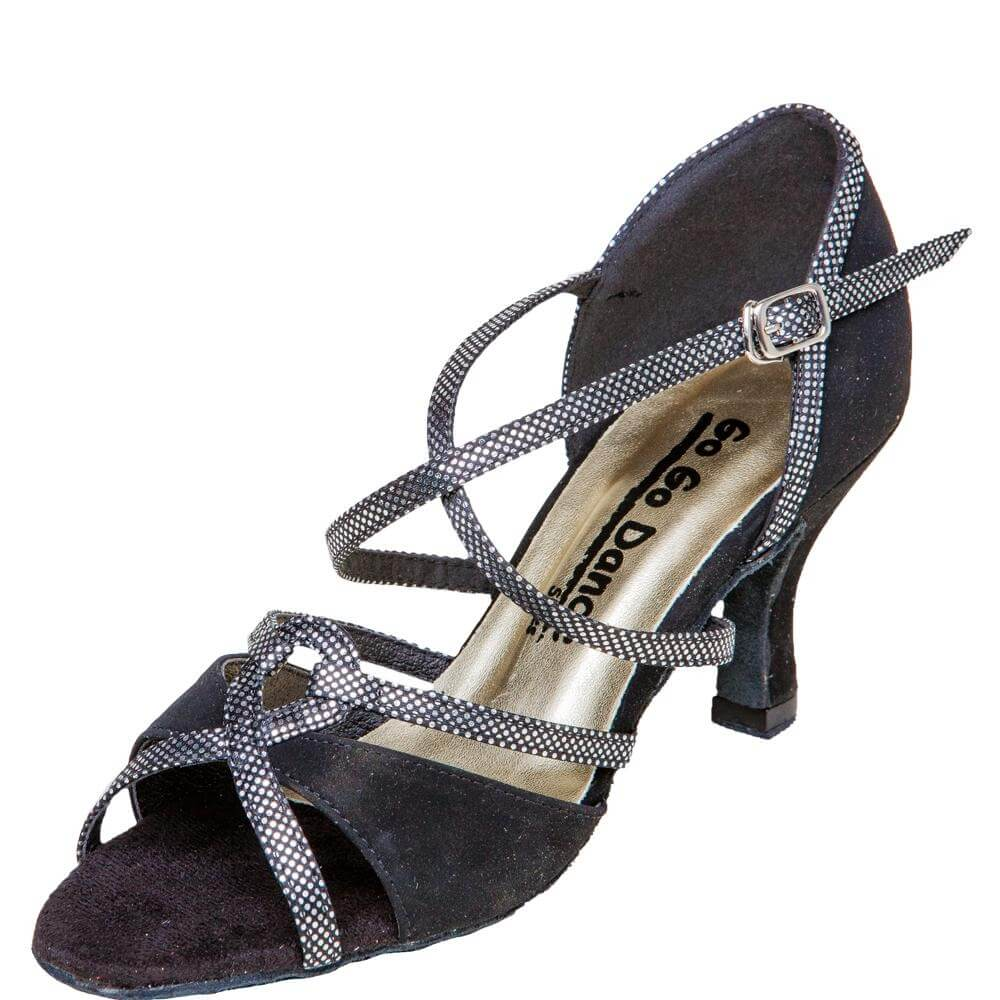 "GOGO Ladies 2.75"" Heel Latin/Rhythm Ballroom Shoe"