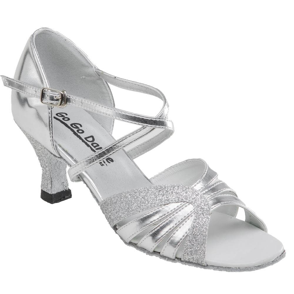 "GOGO Ladies 2.5"" Heel Latin and Ballroom Shoes"
