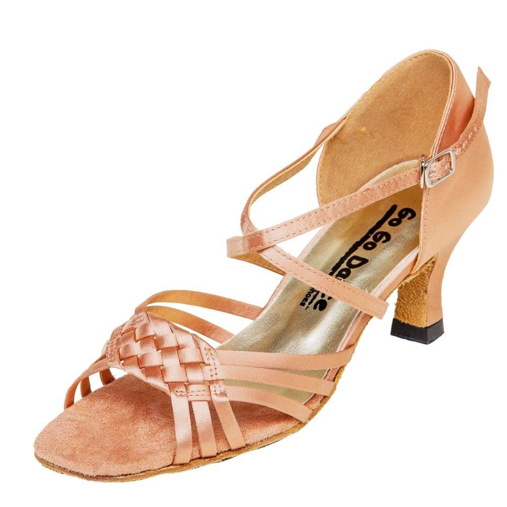 "GOGO Ladies 2.5"" Heel Latin/Rhythm Ballroom Shoe"