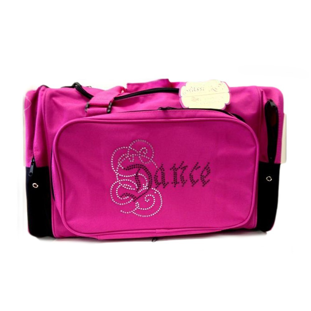 Sassi Calligraphy Bling Duffel dance bag