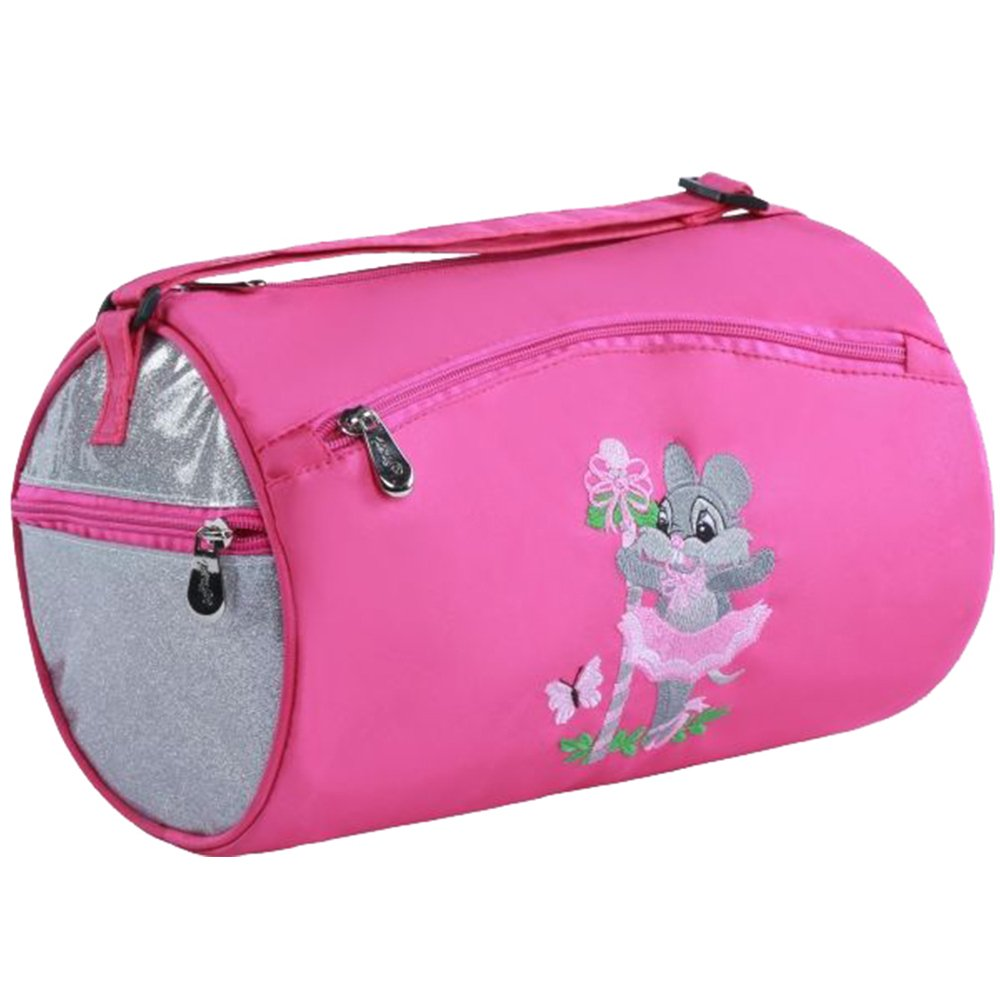 Sassi Ballerina Mice Small Roll Duffel Bag