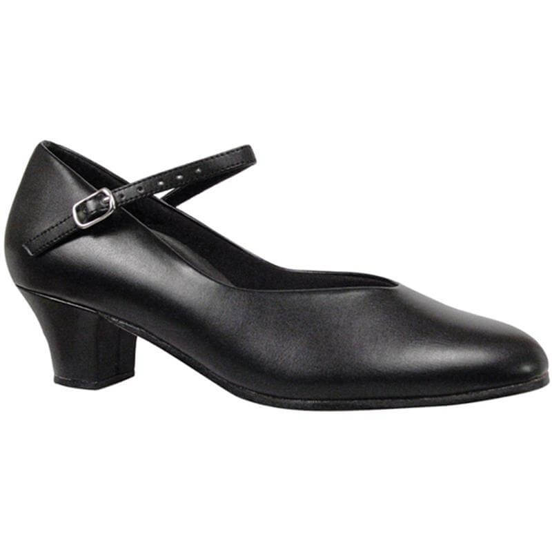"Dance Class® Adult Leather-Like 1.5"" Character Shoe"