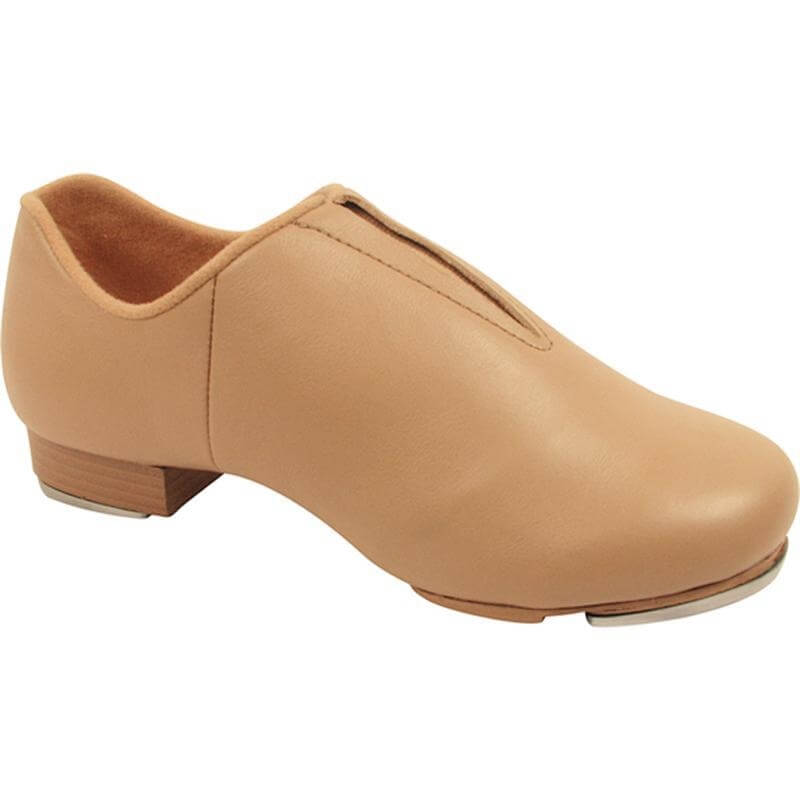 Trimfoot Adult Leather Split Sole Jazz Tap Shoe