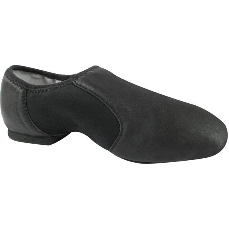 Dance Class® Adult Leather Slip-on Jazz Shoe