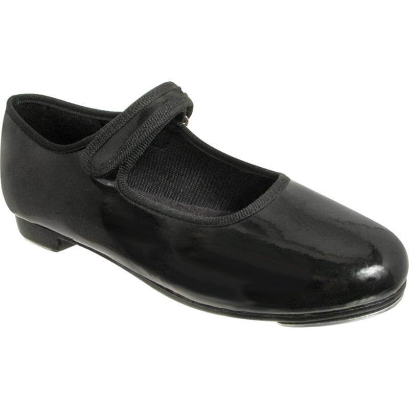 Dance Class® Child Patent Leather Beginning Tap Shoe