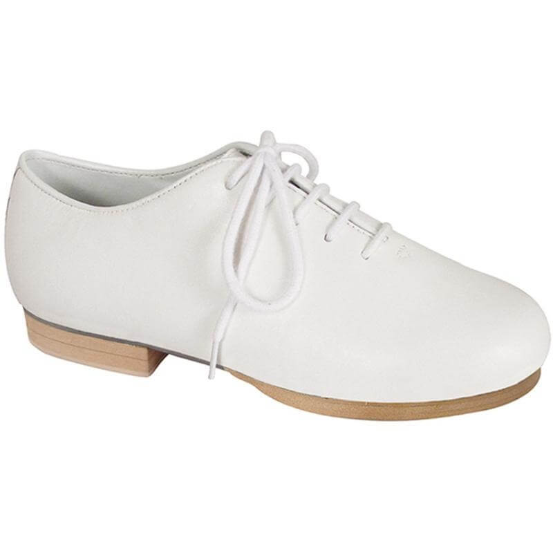 Dance Class® Child Leather-Like Jazz and Clogging Oxford