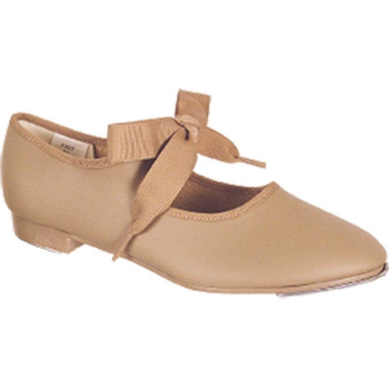 Dance Class® Adult Leather-Like Beginning Tap Shoe