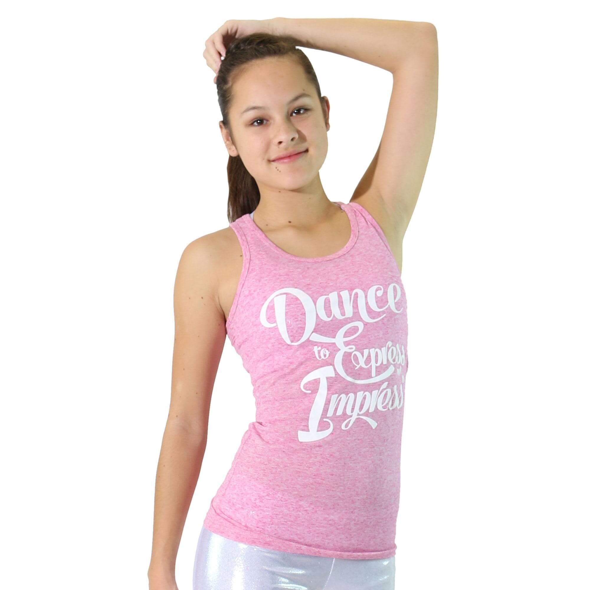 "Trendy Trends ""Dance To Express"" Tank"