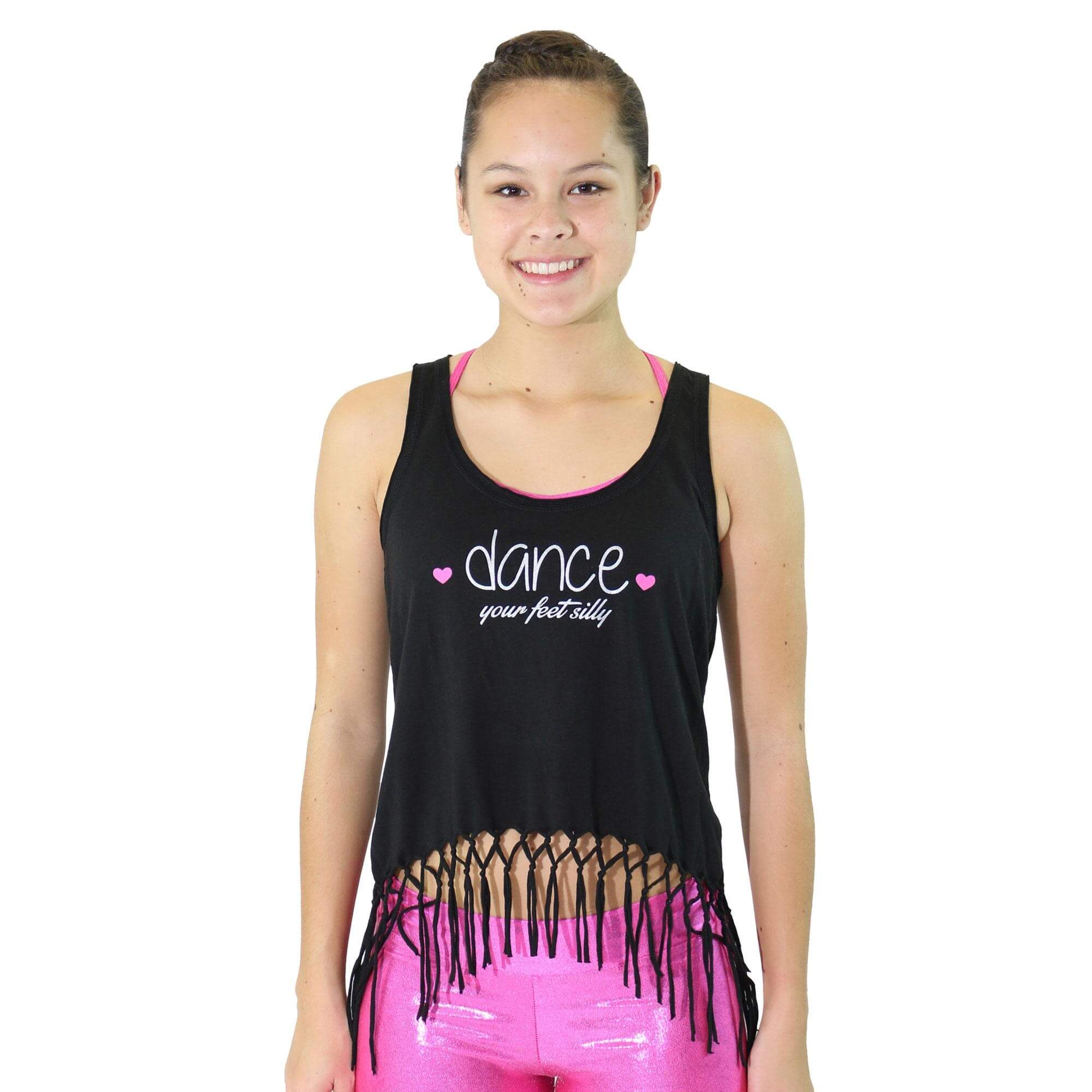 "Trendy Trends ""Dance Your Feet Silly\"" Tank"
