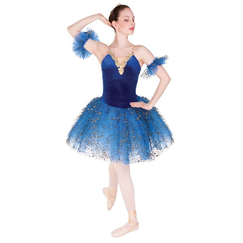 Victoria Dancewear Blue Rhapsody Dance Costume
