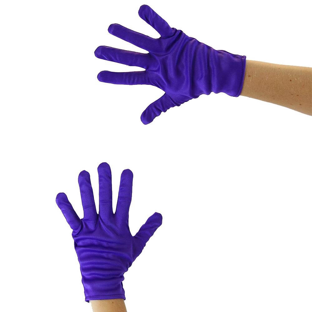 Adult Color Flash Mime Gloves