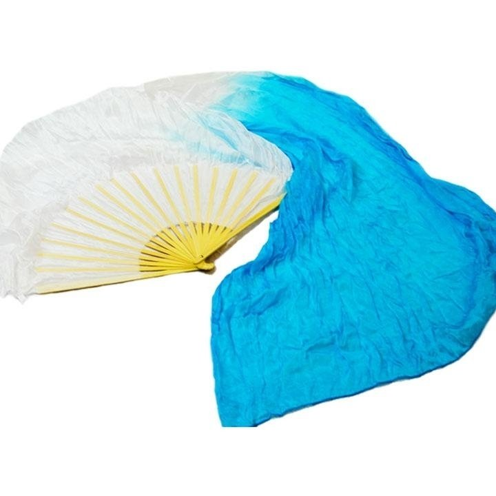 Danzcue Semi-transparent Silk Dancing Fan