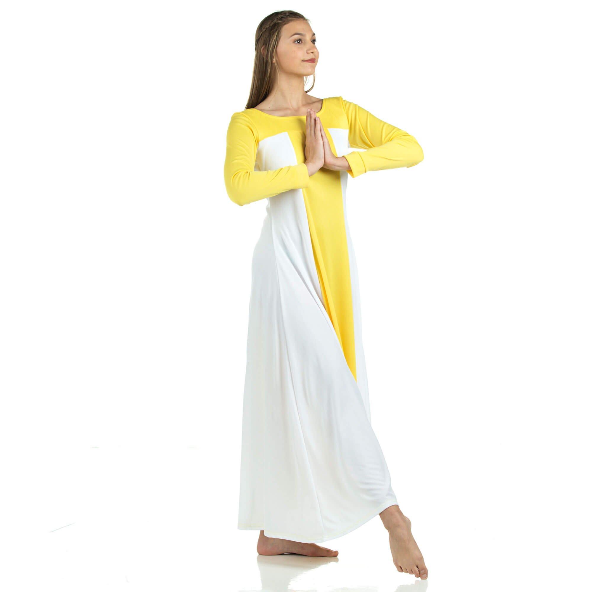 db99538d0 Turmec » danzcue praise full length long sleeve dance dress