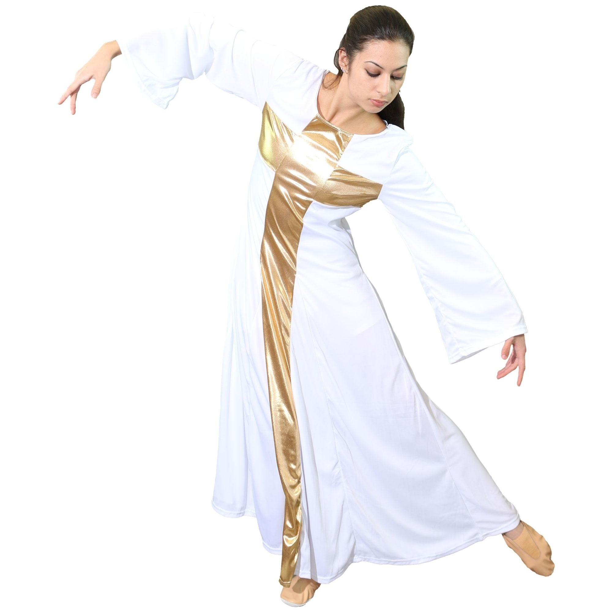 Danzcue Praise Dance Cross Long Dress