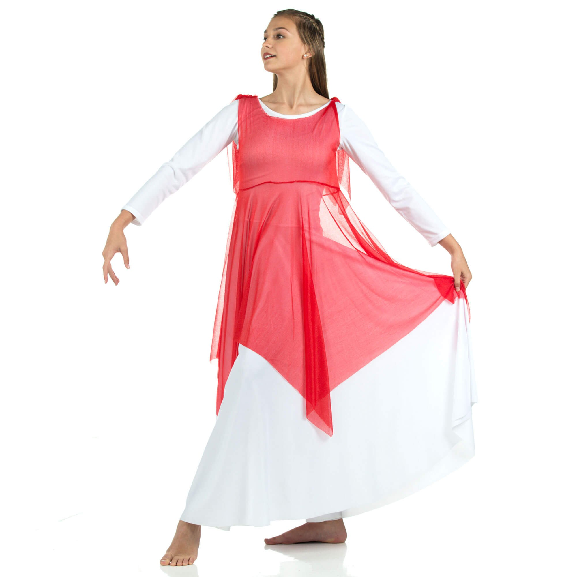 Crepe Overdress (leotard not included)