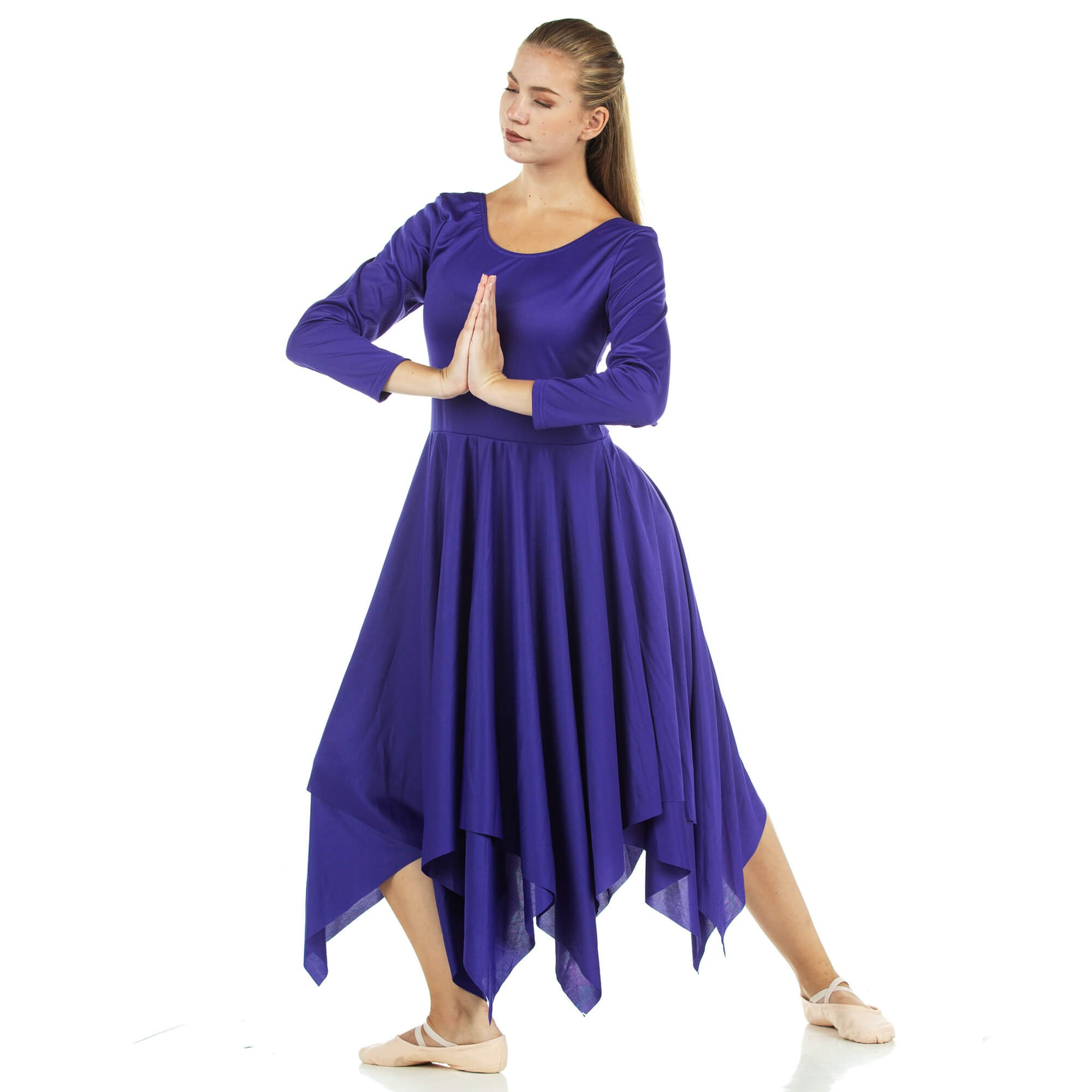 Danzcue Celebration of Spirit Long Sleeve Praise Dance Dress