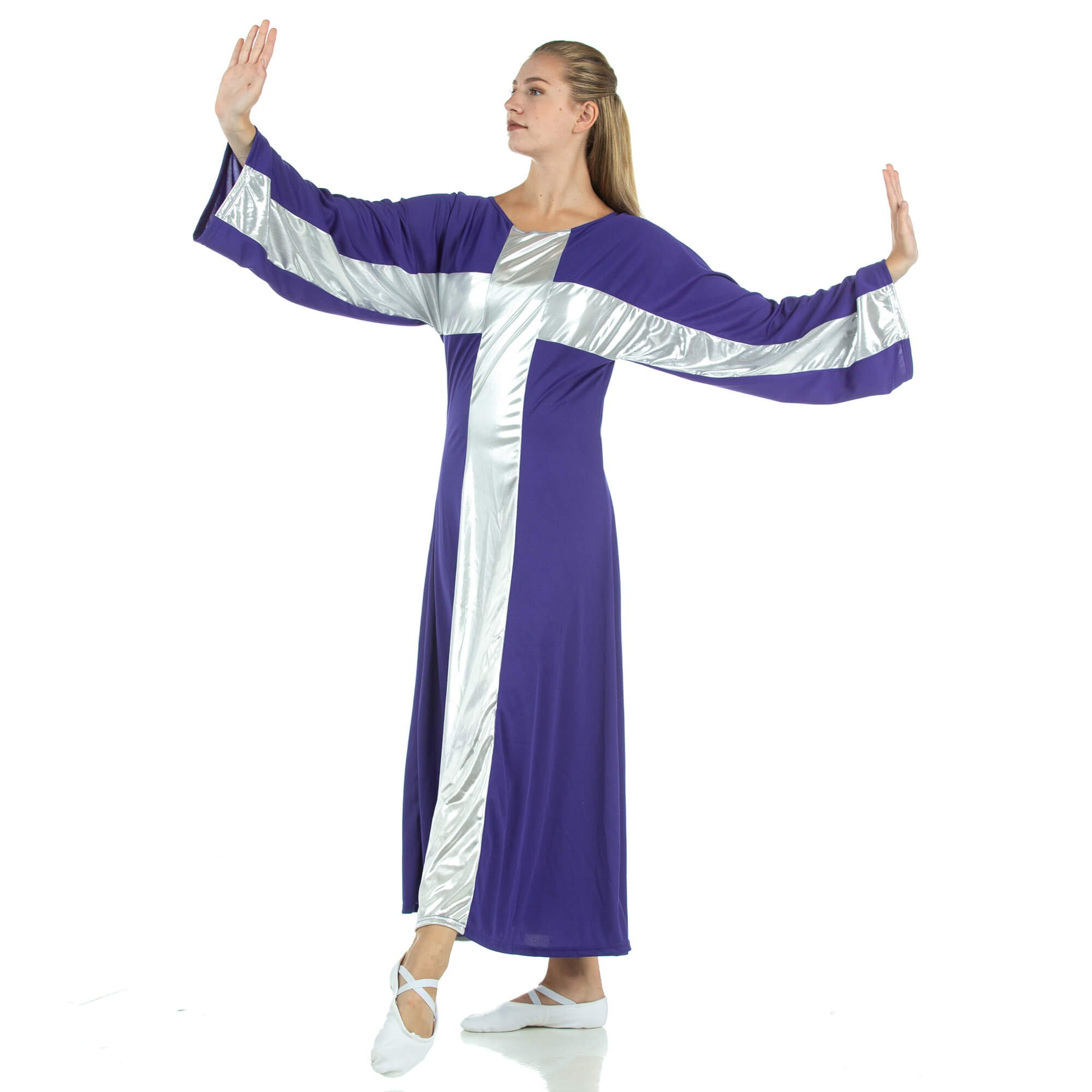 Danzcue Cross Robe Worship Dance Dress