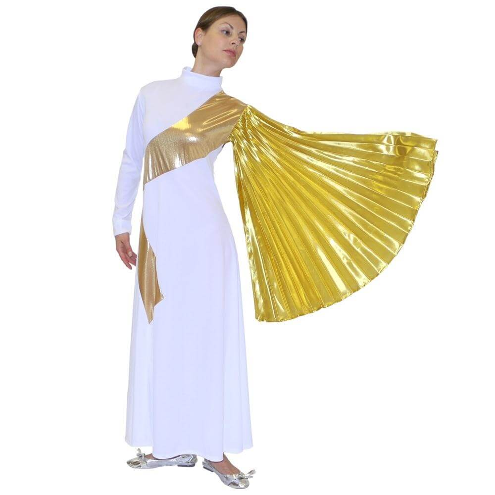 Danzcue Ladies Dress With Wing