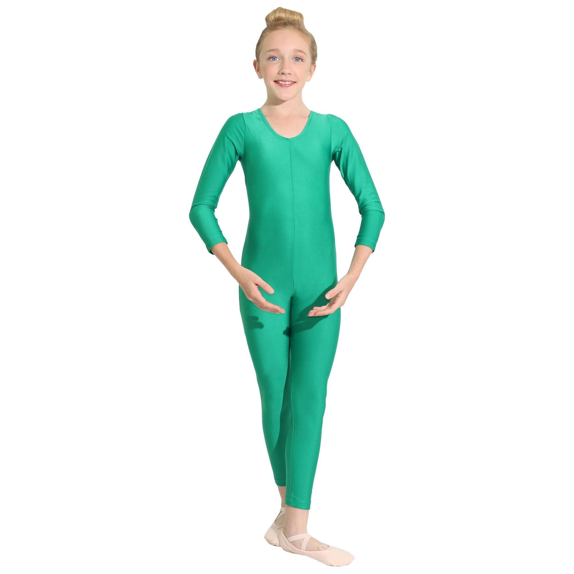 Danzcue Nylon Full Body Child Unitard