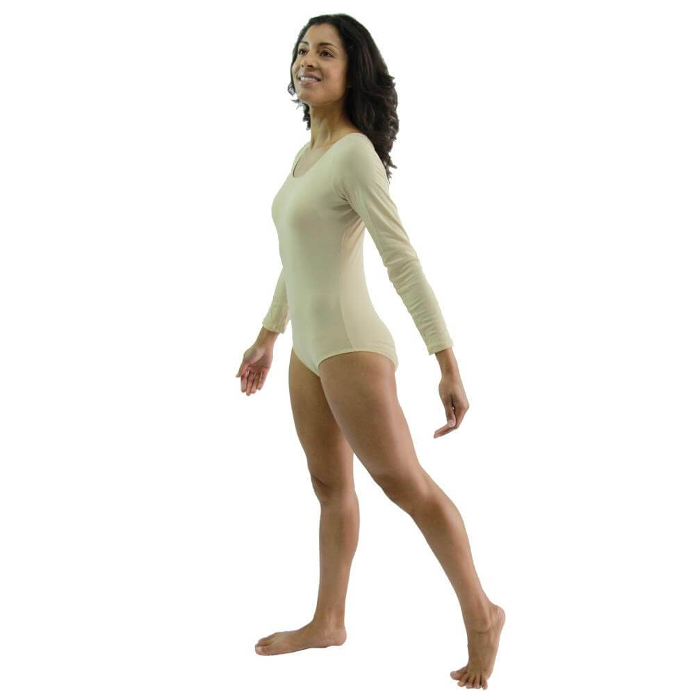 Danzcue Basic Long Sleeve Leotard