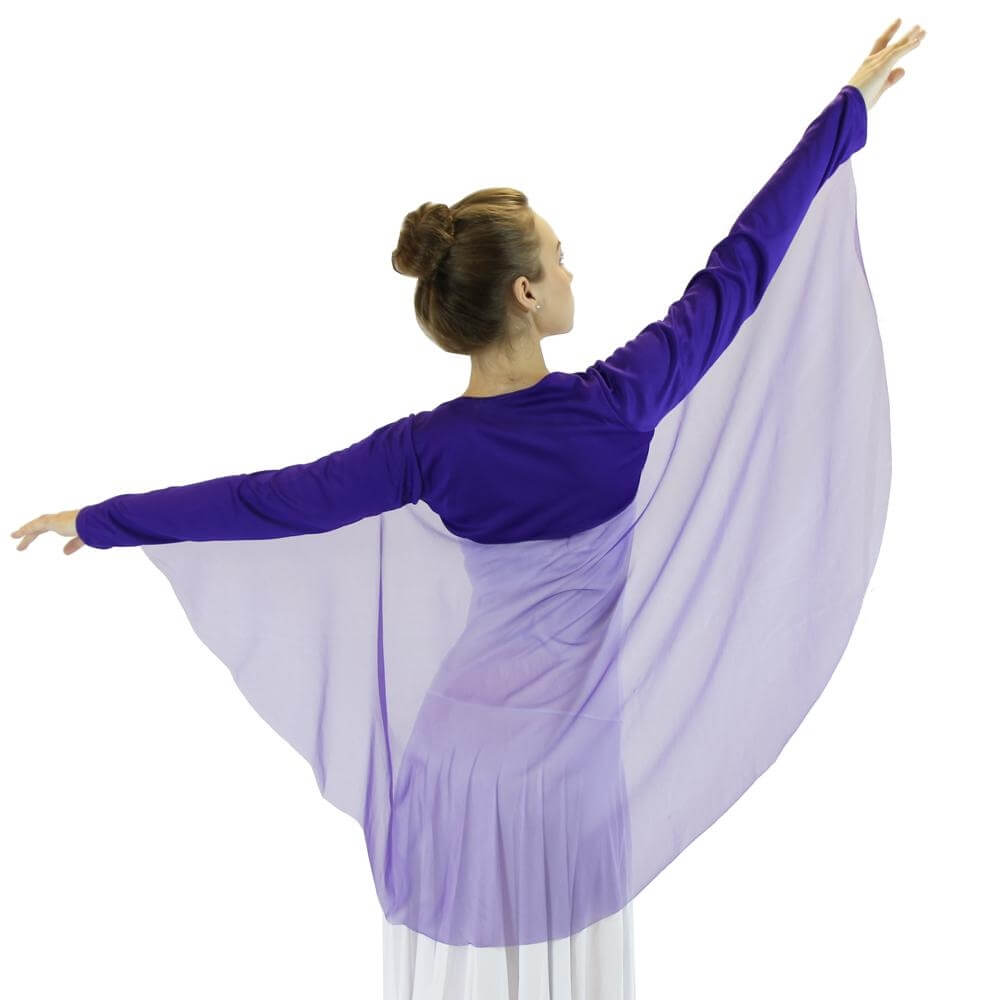 Danzcue Worship Angel Wing Shrug