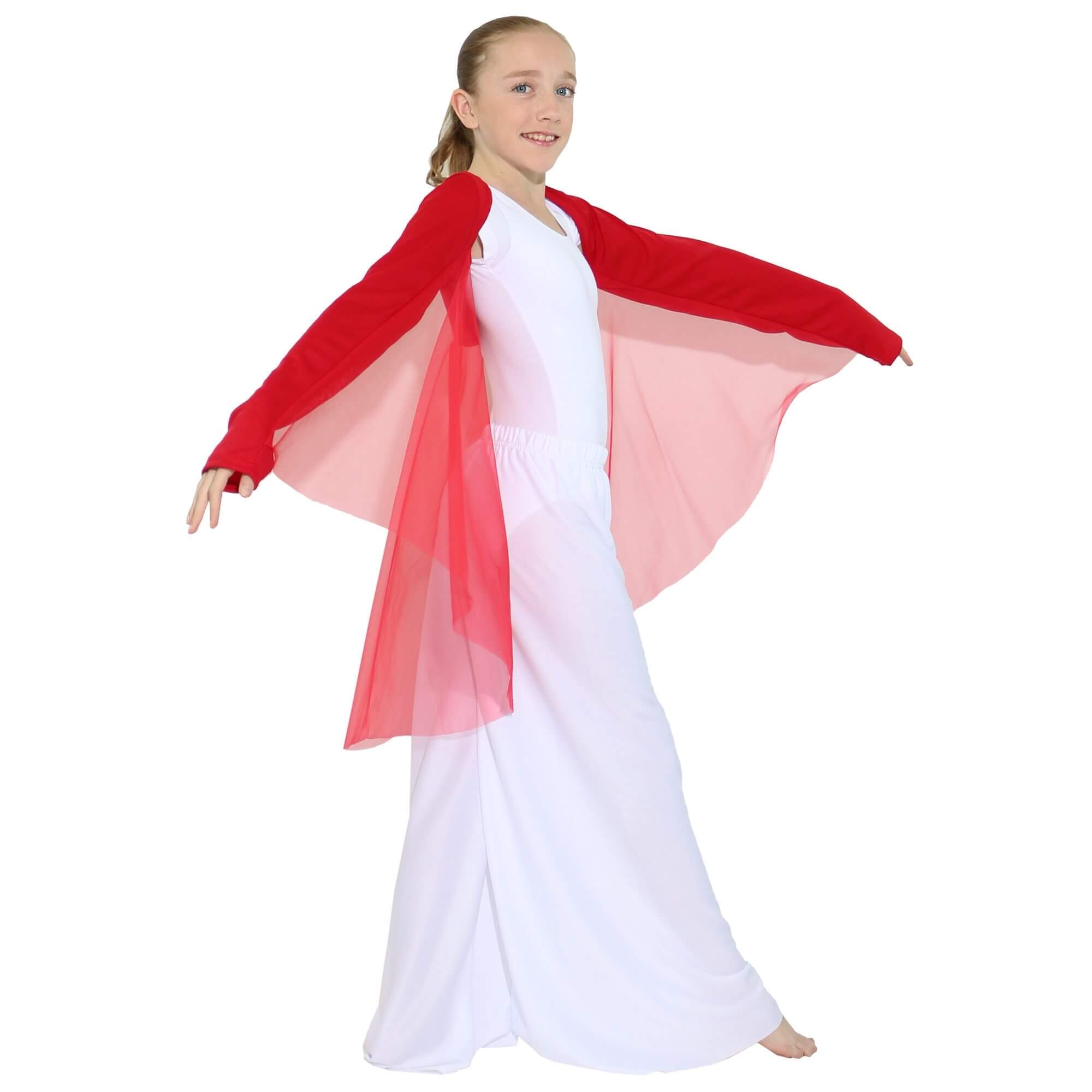Danzcue Child Worship Angel Wing Shrug