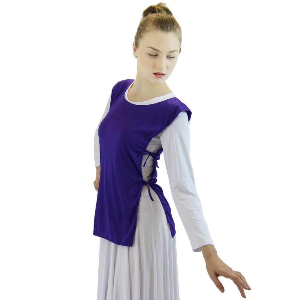 Danzcue Polyester Ephod Dance Top