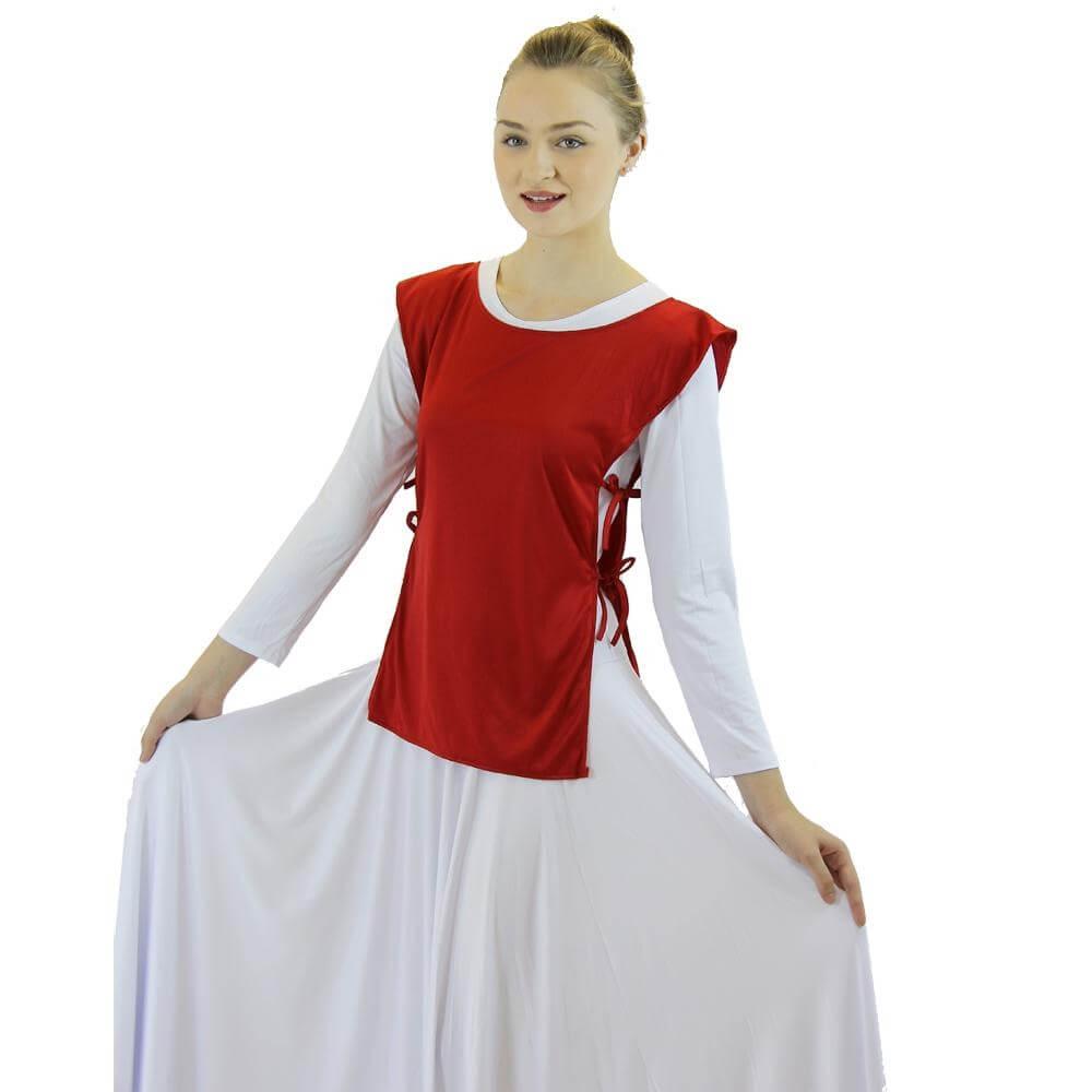 Danzcue Polyester Ephod Top