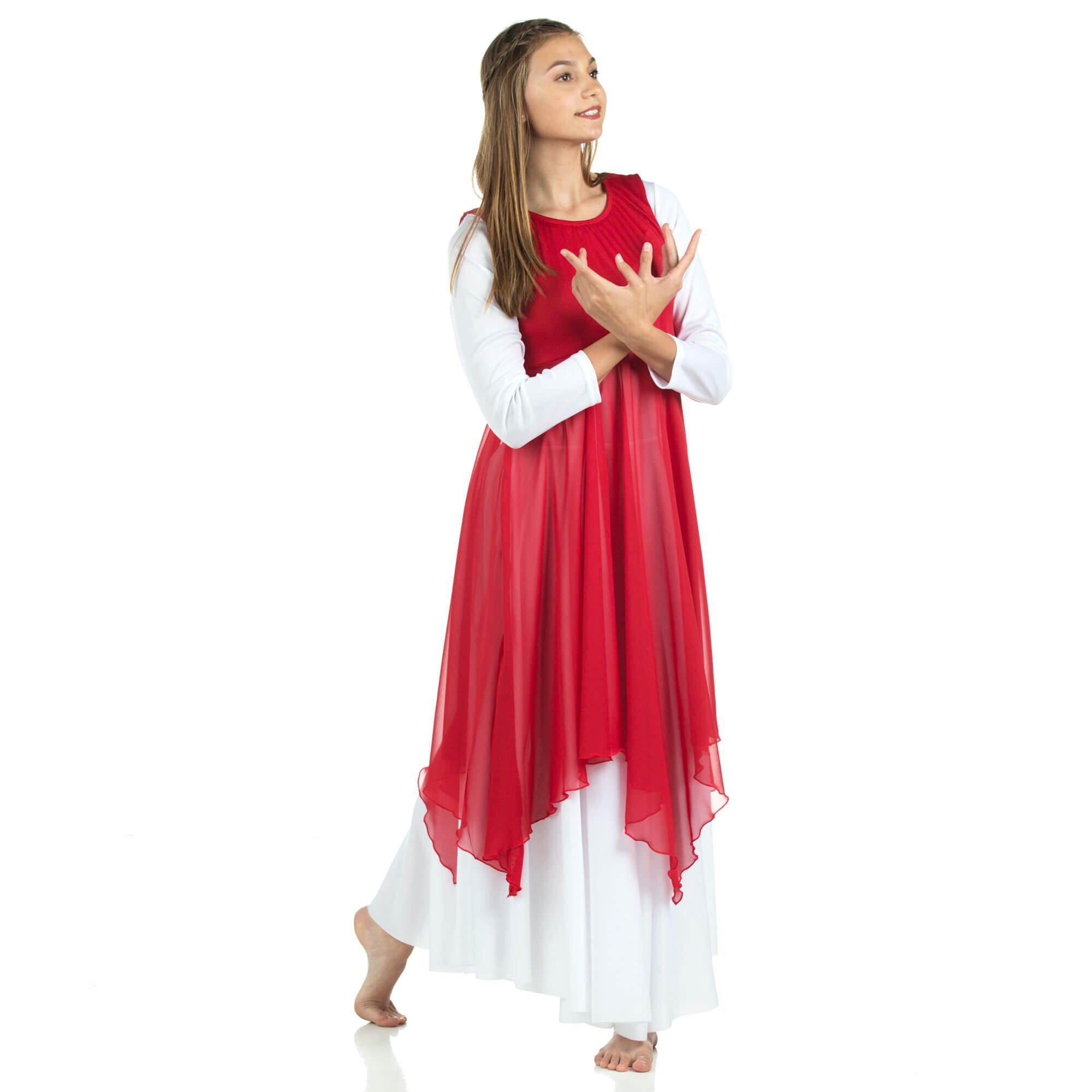 worship dancewear mime costume church dresses praise dance