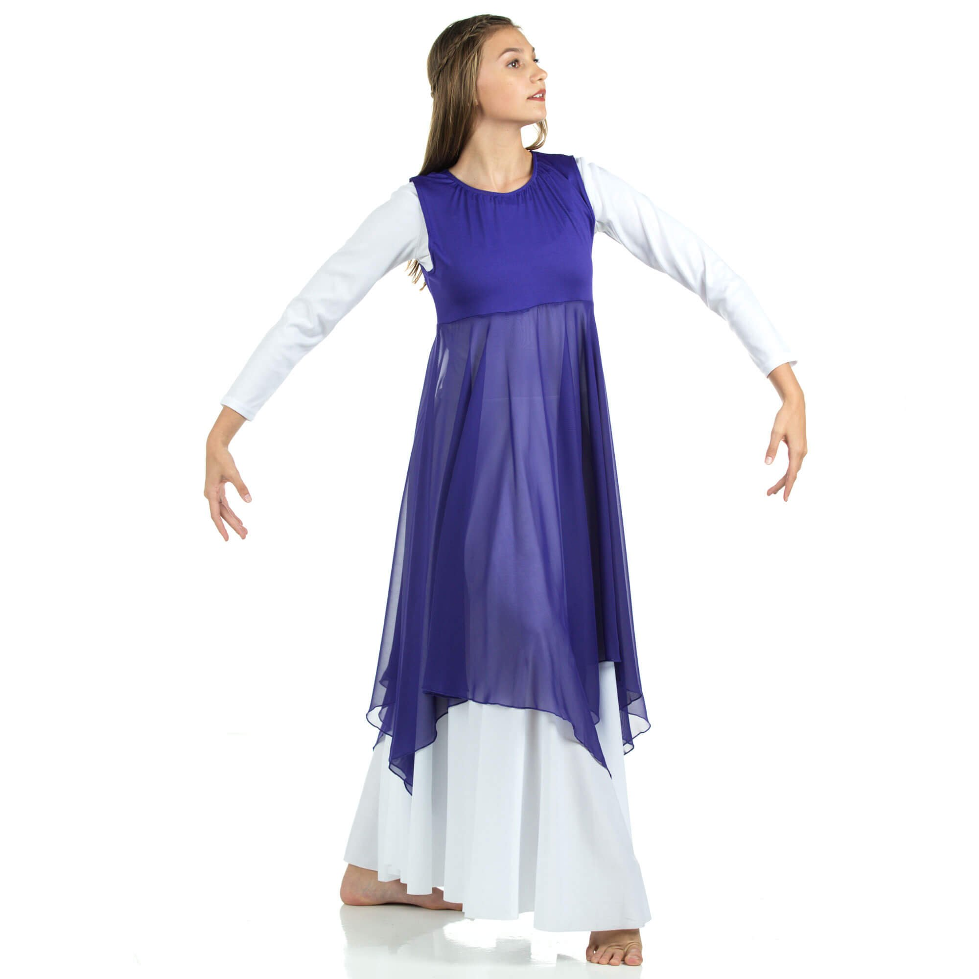 294b86cf09d8 Worship Dancewear: Pentecostal Dance Dress, mime costume, praise ...