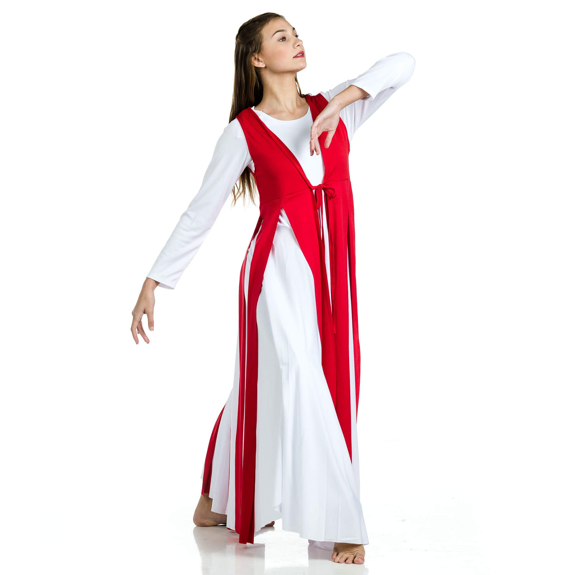 Danzcue Worship Dance Streamer Tunic (Dress not Included) - Click Image to Close