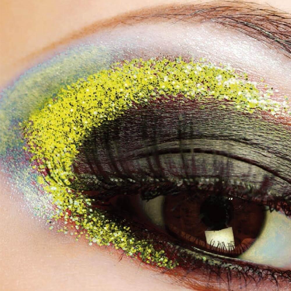 Yofi Cosmetics Black Light Glitter Eye Shadow