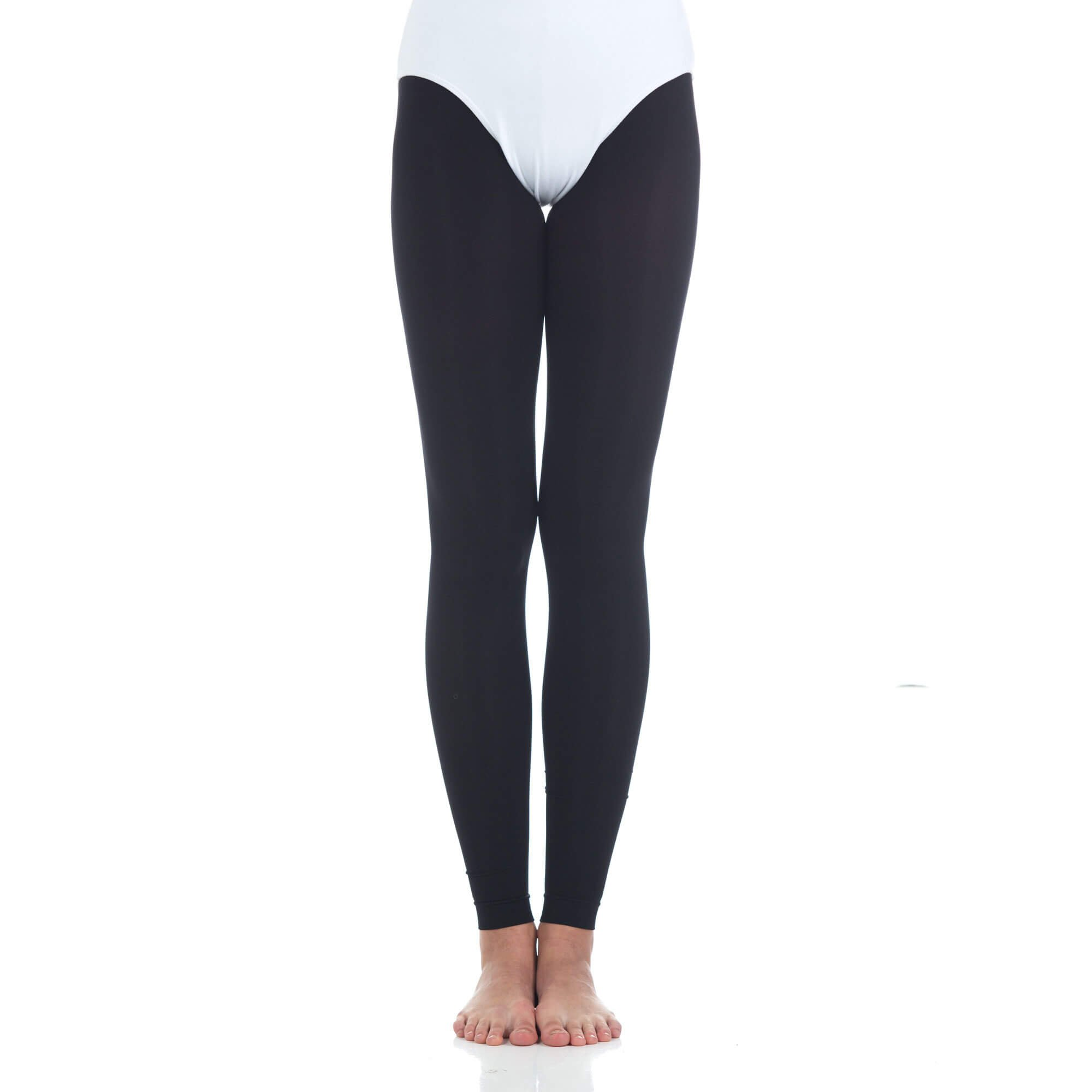 Baiwu Womens Footless Soft Dance Tight