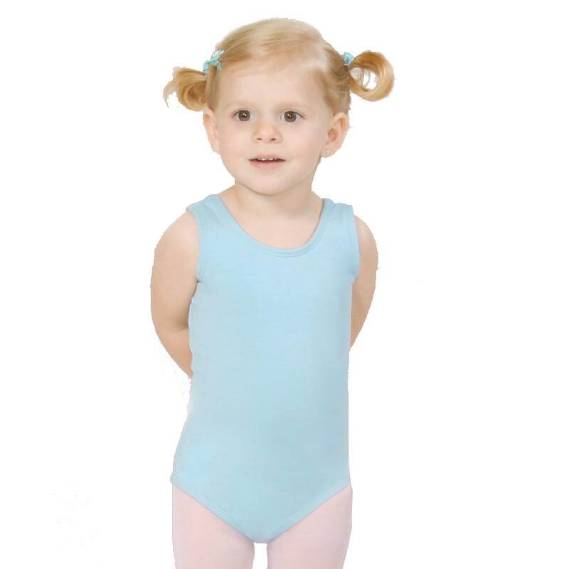 BasicMoves Children Basic tank leotard