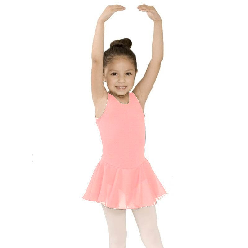 BasicMoves Childrens double X back dress
