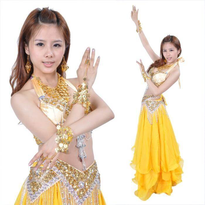 Five-piece Belly Dance Jewelry Set